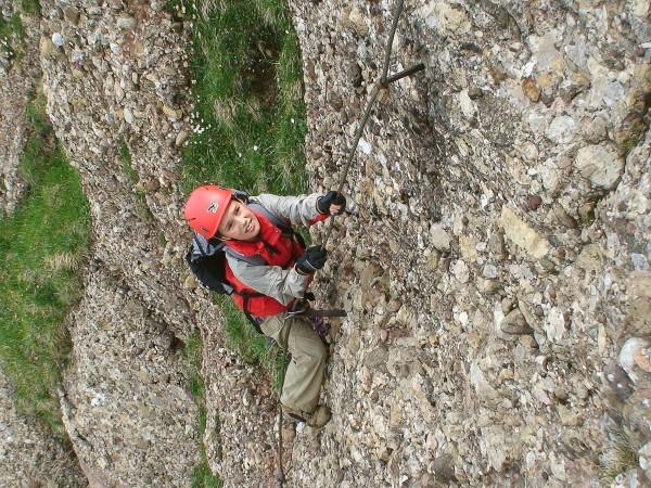 Klettersteig Speer : Gipfelbuch verhältnisse speer kletterweg