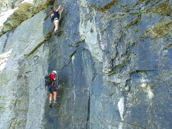 Klettersteig Fürenalp : Gipfelbuch.ch gipfelbuch verhältnisse fürenwand klettersteig