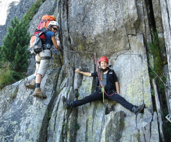 Klettersteig Diavolo : Gipfelbuch verhältnisse via ferrata diavolo