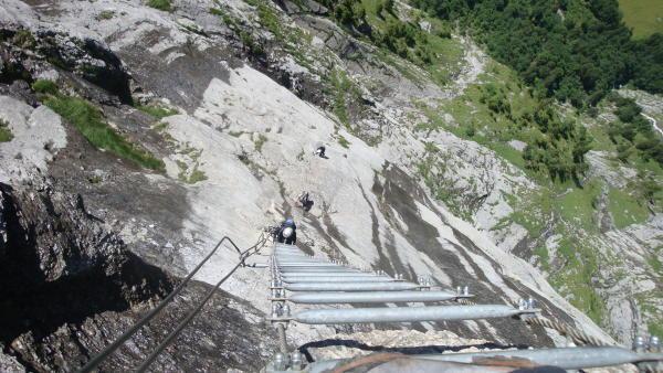 Klettersteig Fürenwand : Gipfelbuch verhältnisse klettersteig fürenwand