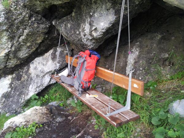 Klettersteig Fürenwand : Gipfelbuch verhältnisse fürenwand klettersteig