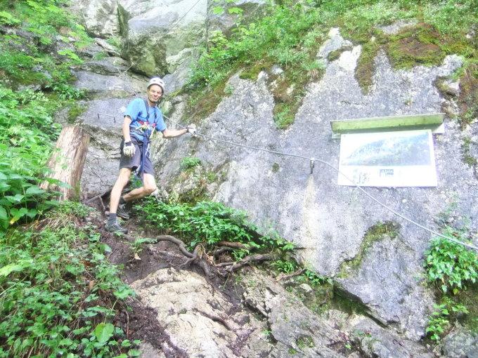 Klettersteig Weiße Gams : Klettersteige zahme gams und weiße alpenverein