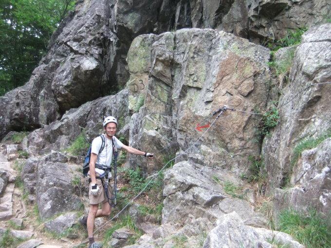 Klettersteig Todtnau : Todtnau klettersteig aufstieg realtime youtube