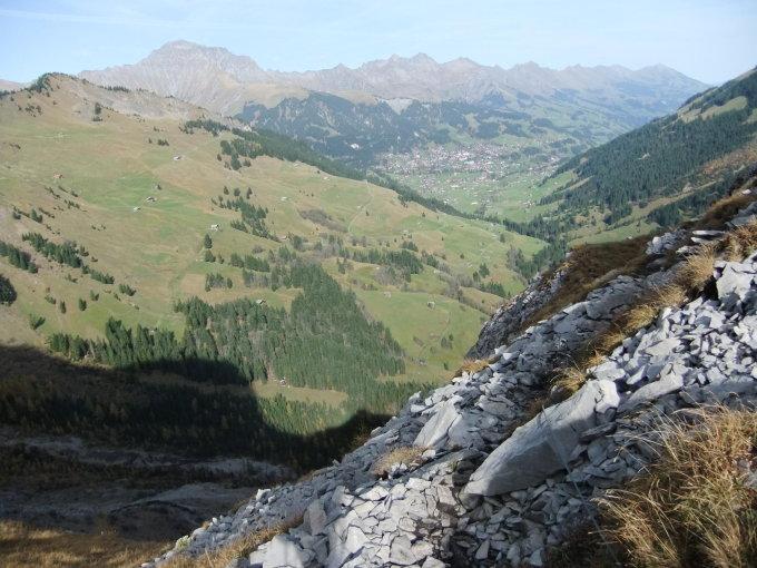 Klettersteig Chäligang : Klettersteige chäligang