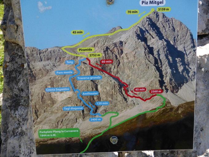 Klettersteig Piz Mitgel : Gipfelbuch.ch gipfelbuch verhältnisse piz mitgel 3159 m.ü.m