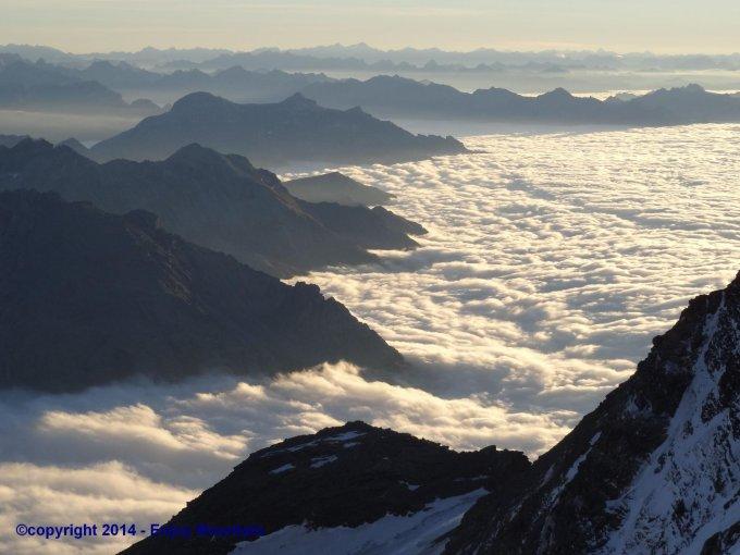 ... - Fletschhorn, 3993 m.ü.M. - Nordwände - Wiener Route - 22.12.2015