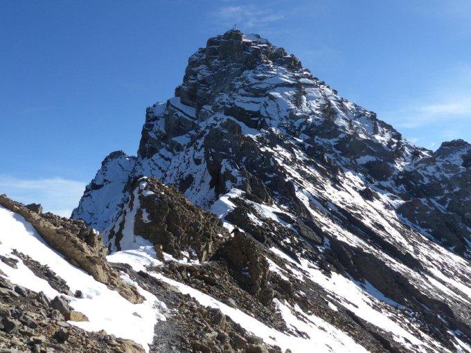 Klettersteig Piz Mitgel : Gipfelbuch.ch gipfelbuch verhältnisse piz mitgel klettersteig