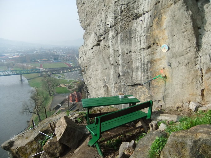 Klettersteig Decin : Schäferwand decin klettersteig klettersteige abenteuer
