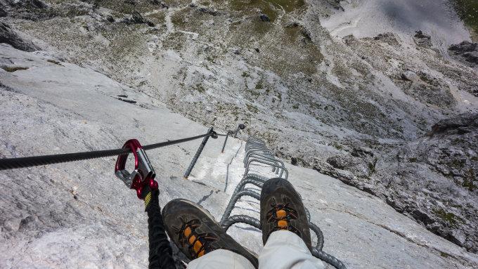 Klettersteig Sulzfluh : Gipfelbuch verhältnisse sulzfluh m ü