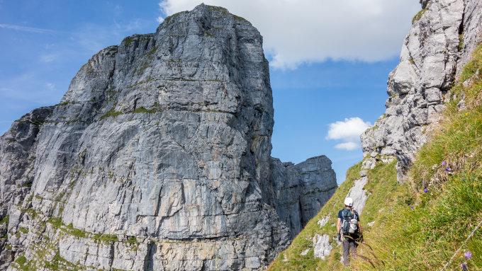 Klettersteig Braunwald : Gipfelbuch.ch gipfelbuch verhältnisse hinter eggstock 2455 m