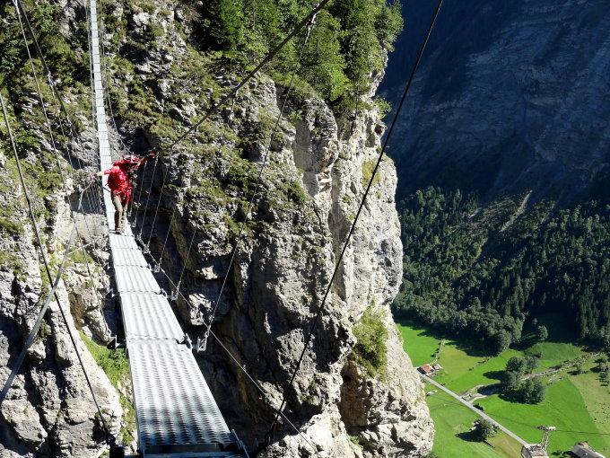 Klettersteig Mürren : Gipfelbuch verhältnisse klettersteig mürren