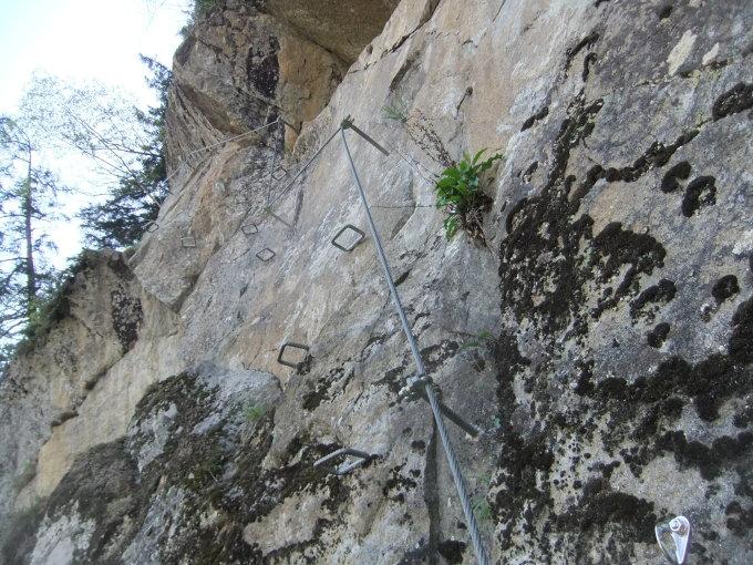 Klettersteig Nasenwand : Gipfelbuch verhältnisse nasenwand m ü