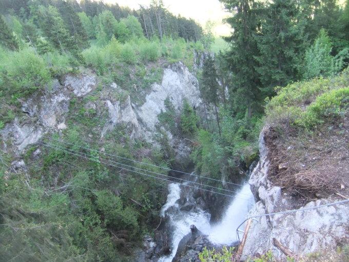 Klettersteig Talbach : Klettersteige im zillertal