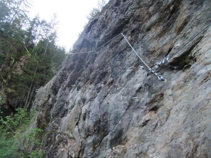 Klettersteig Talbach : Gipfelbuch verhältnisse wasserfall talbach