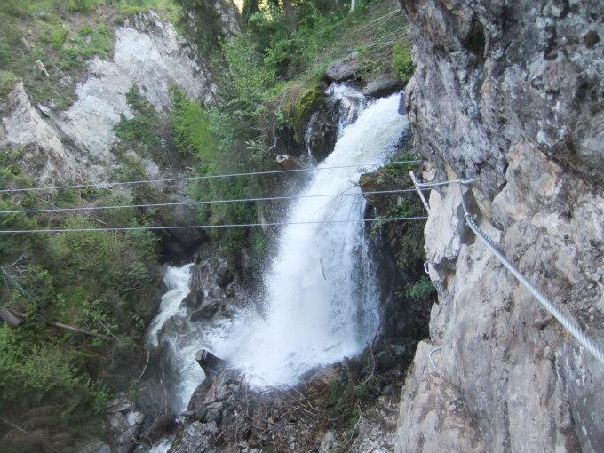 Klettersteig Talbach : Talbach m klettersteig tuxer alpen