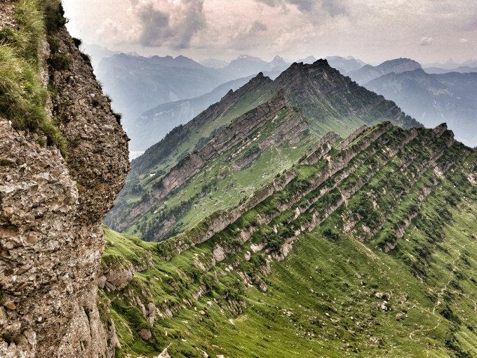 Klettersteig Speer : Gipfelbuch verhältnisse speer m ü