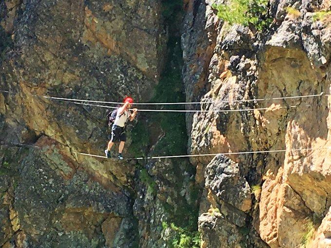 Klettersteig La Resgia : Gipfelbuch verhältnisse klettersteig alp