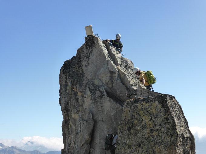 Klettersteig Eggishorn : Gipfelbuch verhältnisse eggishorn m ü
