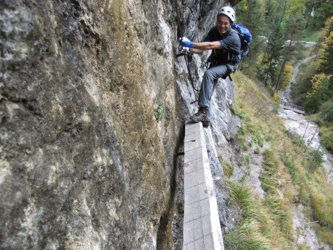 Klettersteig Hausbachfall : Gipfelbuch verhältnisse hausbachfall m ü