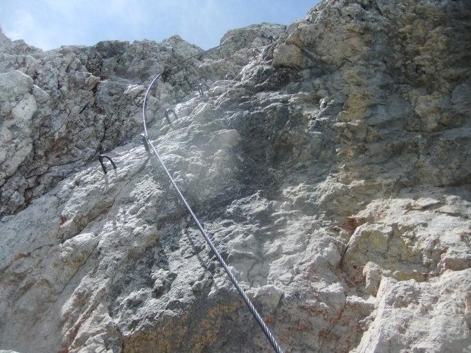 Klettersteig Johann Dachstein : Gipfelbuch verhältnisse hoher dachstein
