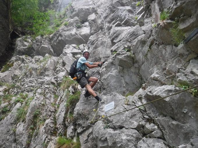 Klettersteig Netstal : Klettersteig indianer kibe tödi