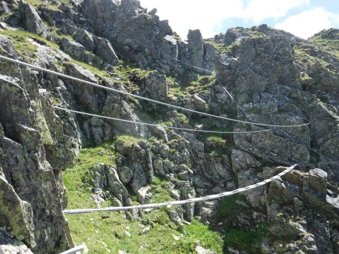 Klettersteig Hochjoch : Klettersteig hochjoch silvretta montafon