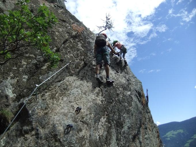 Klettersteig Naturns Knott : Gipfelbuch verhältnisse naturnser sonnenberg