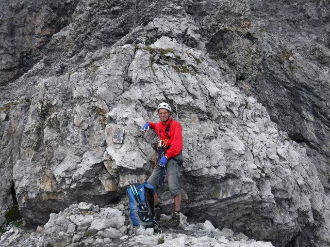 Klettersteig Tabaretta : Route des tabaretta klettersteig