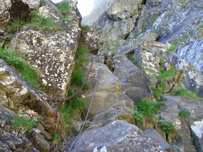 Klettersteig Chäligang : Bergfex klettersteig ch tour berner oberland