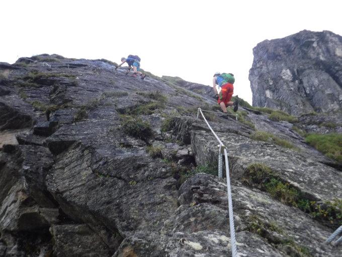 Klettersteig Madrisella : Gipfelbuch verhältnisse madrisella m ü