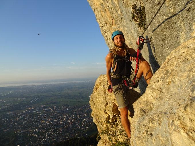 Klettersteig Via Kapf : Gipfelbuch.ch gipfelbuch verhältnisse kapf 1153 m.ü.m