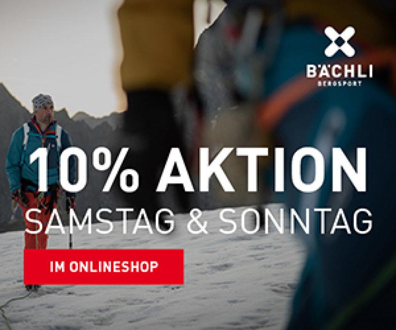 6d8264cf3e469 Bächli Bergsport versüsst Ihrem Portemonnaie.